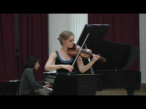 Menuhin Competition Repertoire 2010: Mozart Violin Concerto No. 2, Andante