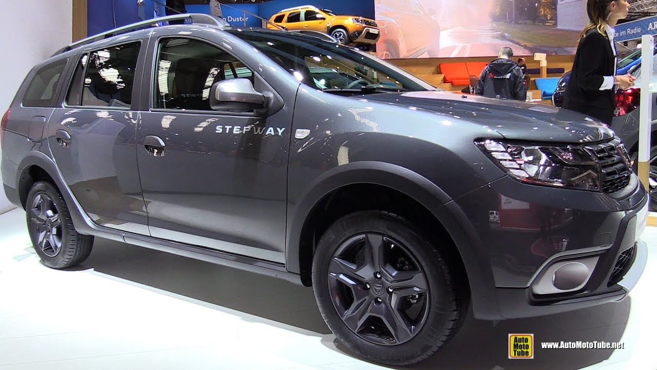 2018 dacia logan mcv stepway exterior and interior. Black Bedroom Furniture Sets. Home Design Ideas