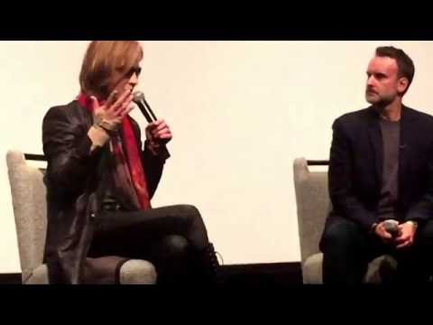 Yoshiki of X Japan, with Stephen Kijak, director of We Are X - Part 3