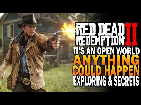 It's An Open World, Anything Could Happen - Red Dead Redemption 2 [ RDR2 Xbox One X]