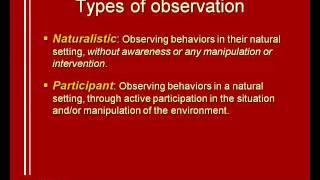 05: Observational methods (1/2)
