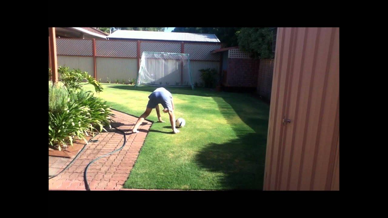 best backyard soccer goals response youtube