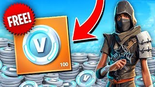 How to Earn FREE VBUCKS In Fortnite! + Giveaway thumbnail