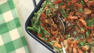 Green Bean Casserole-Everyday Food with Sarah Carey