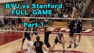 BYU vs Stanford (FULL GAME) Men