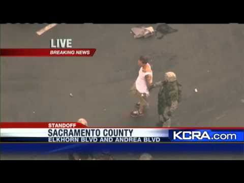 Man Gives Up After Foothill Farms Standoff