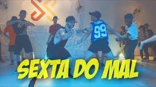 MC Zaac - Sexta Do Mal Coreografia broopz