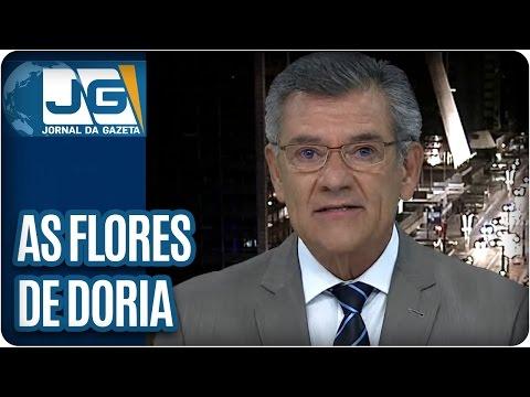 Sobre as Flores de Doria e Discursos do Temer | Comentário de Rodolpho Gamberini