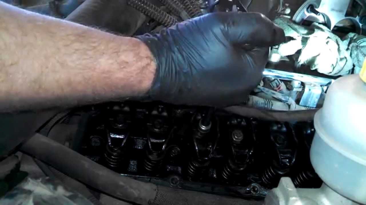 Engine knock and ticking noise V10 80L 2001 Dodge Ram  YouTube