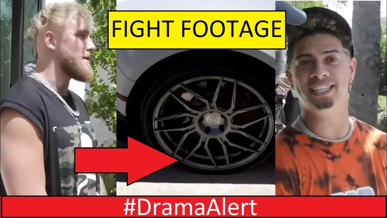 Jake Paul SLASHES Austin McBrooms TIRES! #DramaAlert Adin Ross , KSI , Logan Paul vs Bryce Hall!