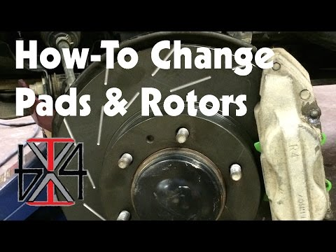 How to Change Pads and Rotors on a Tacoma