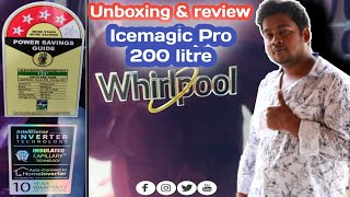 Whirlpool 200 litres 4 Star Single Door Refrigerator Purple Icemagic Pro pijush tech