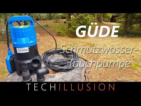 🛠gÜde-schmutzwassertauchpumpe-im-test---güde-gs4000---review-&-test