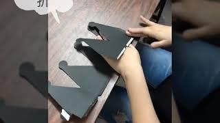 六角禮物盒-內置禮物盒(上蓋)組裝教學