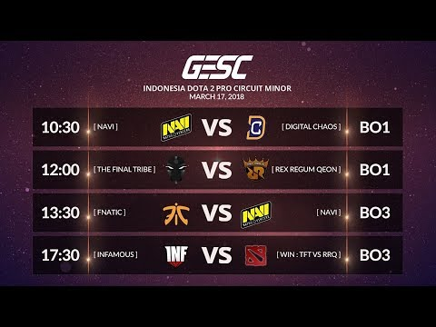 FNATIC [MY]  vs NAVI [UA] [BO3] @GESC INDONESIA MINOR Playoffs Day 1