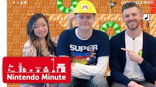 Our Friend Brings Us Crazy Super Mario Maker 2 Levels!! - Nintendo Minute