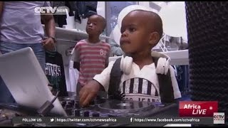 2-year-old DJ AJ is a viral phenomenon
