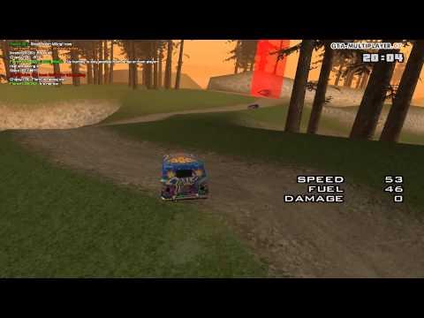 GTA San Andreas: Weed Race!!