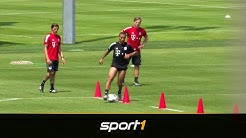 Thiago wieder am Ball - Flick weist Kritiker in die Schranken | SPORT1