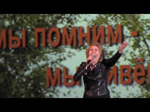 Ольга Кормухина в Лужниках. Вывод войск из Афганистана