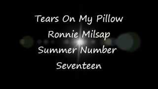 Ronnie Milsap   Tears On My Pillow with Lyrics