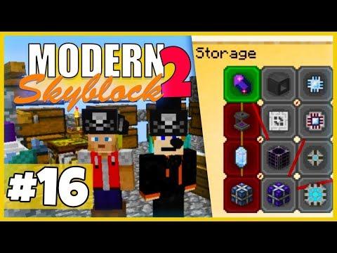 Ab jetzt mit Plan: Erster Schritt fürs ME-System! - Minecraft Modern Skyblock 2 (Expert Mode) - #16