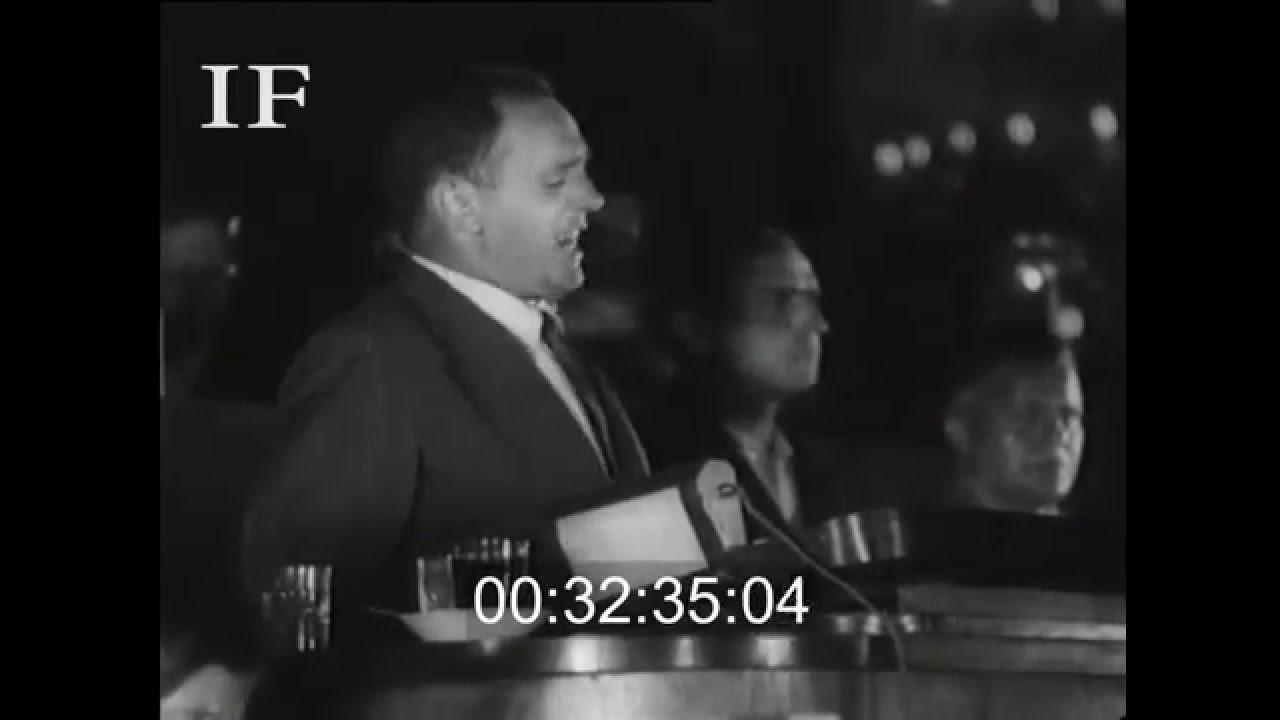 1935 Discurso de los delegados de PSOE en el VII Congreso de Komintern, Moscu, agosto de 1935