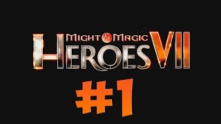 Might & Magic Heroes VII. Прохождение. Часть 1 (Танис, Магические ночи, начало кампании)