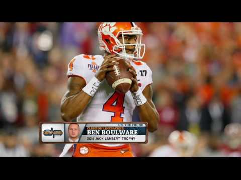 Ben Boulware can't wait to finally hit Deshaun Watson once they're in the NFL