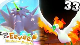 FROZEN SOLID - Pokémon: Let's Go, Eevee! RANDOMIZER NUZLOCKE Part 33!