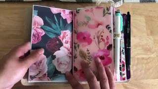 Foxy fix TN updated planner set-up! (GTD, Sewmuchcrafting, Bullet Journal, Project Planning)