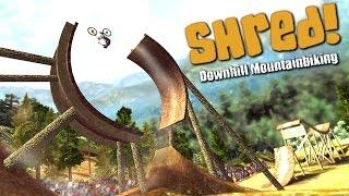Shred! Downhill Mountain Biking PC Gameplay [60FPS]