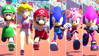 Mario & Sonic at the Olympic Games Tokyo 2020 - Triple Jump (All Characters)