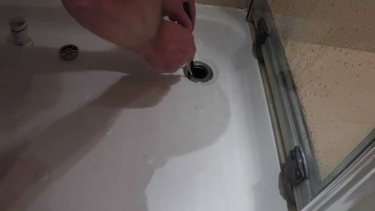 HOW TO: Clean and Unblock a Shower Drain | Drainage Sales - YouTube