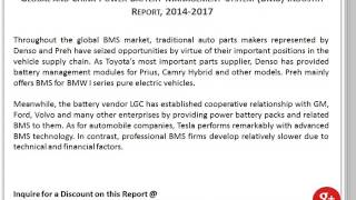 2014-2017 Global and China Power Battery Management System (BMS) Industry Report
