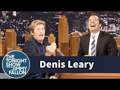 Denis Leary Got Caught Staring at Rod Stewart's Junk