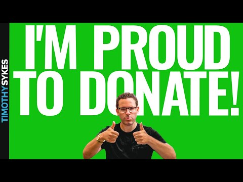 Why I Donate 100% Of My Trading Profits To Charity