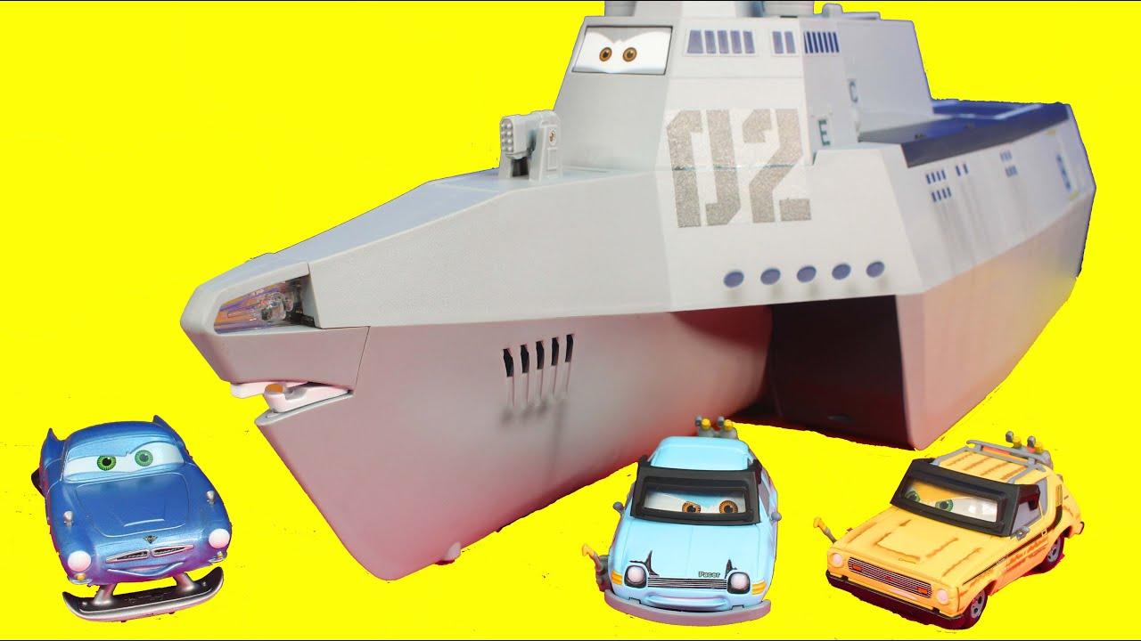 Cars  Combat Ship Toy
