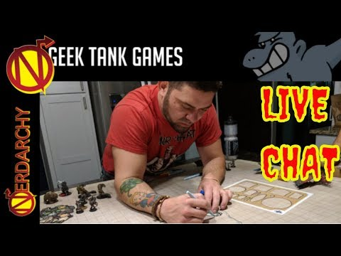 Stuff for Your D&D Game from Geek Tank Games- Nerdarchy Live Chat #219