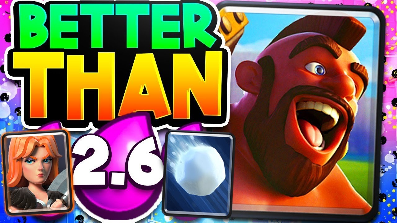 The STATE OF HOG in Clash Royale (Top 2 Decks)