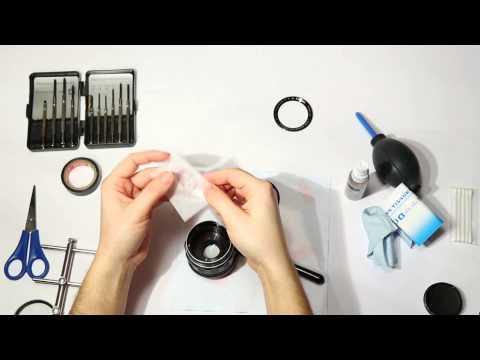 How to clean dust from old lenses