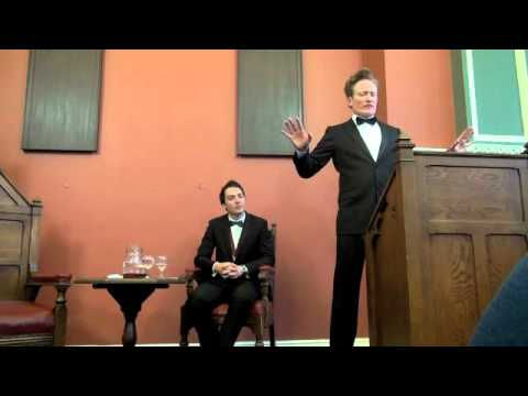 The Honorary Patronage of Conan O'Brien | University Philosophical Society