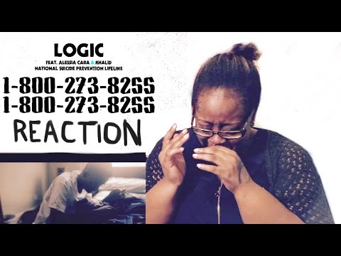 Logic-1-800-273-8255 Ft. Alessia Cara, Khalid REACTION (Cries Hard Without A Care)