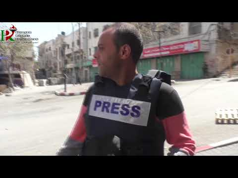 Israeli army expels Palestinian journalists from downtown Hebron