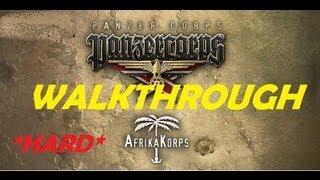 "Panzer Corps: Afrika Korps  #4 walkthrough ""Tobruk"" (I)"