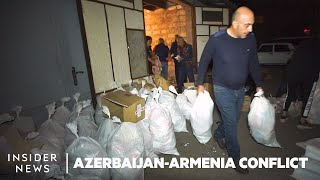 Armenian Civilians Race To Get Supplies To Front Lines Of Regional War | Azerbaijan-Armenia Conflict