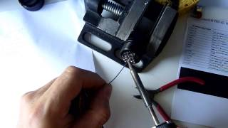 Câblage encodeur côté moteur partie 1