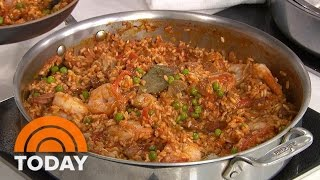 One-Pot Paella: Katie Lee Makes It Easy   TODAY