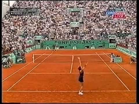 Serena Williams vs Mary Pierce 2002 RG Highlights
