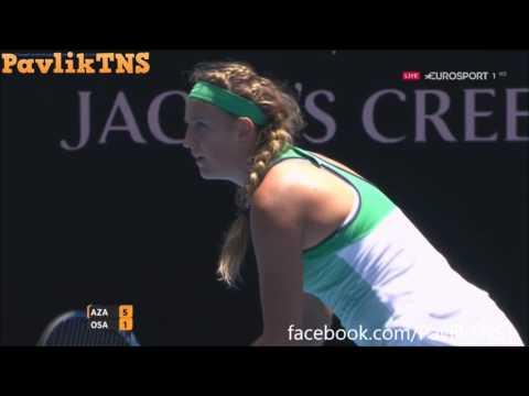 Victoria Azarenka vs Naomi Osaka Highlights ᴴᴰ Australian Open 2016